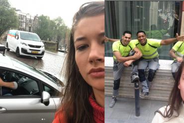 Une étudiante se prend en selfie pendant 1 mois avec des harceleurs de rue