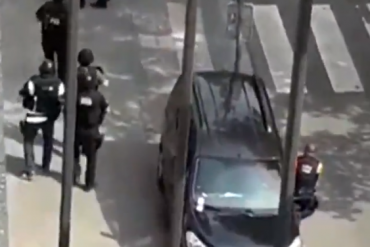 """Attentat de Liège : elle filme l'assaillant qui crie """"Allah Akbar"""" et lui répond """"Allah Akbar de merde, va!"""""""