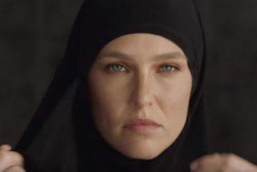 Bar Refaeli traitée de raciste islamophobe pour avoir tourné une pub assimilant le niqab à une privation de liberté