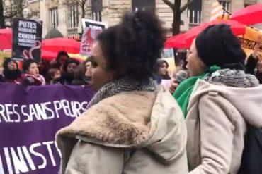 """Divergence des luttes à la manif #NousToutes : les féministes blanches montrées du doigt comme des """"complices"""" du """"blantriarcat"""""""