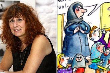 La dessinatrice féministe Franziska Becker accusée de racisme pour avoir critiqué le voile islamique dans ses dessins