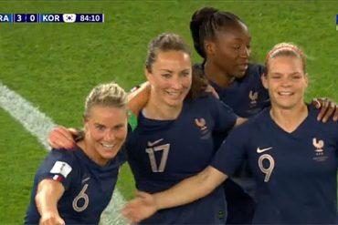 Record d'audience pour le match d'ouverture du mondial de foot féminin!