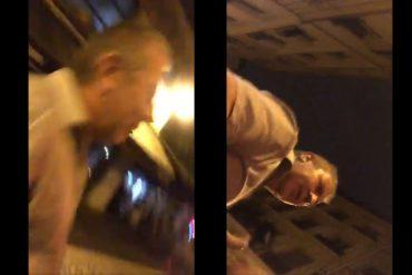 """Video : il frappe une femme et traite ses amies de """"chiennes"""", puis exige qu'elles lui """"parlent poliment"""""""