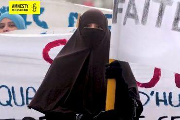 Amnesty International lance une campagne de défense de la burqa