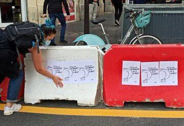 Des militantes féministes arrêtées pour avoir collé des caricatures de Mahomet à Toulouse en solidarité avec Samuel Paty